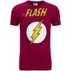 DC Comics Men's Flash T-Shirt - Red: Image 1