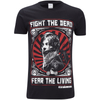 The Walking Dead Men's Fight the Dead T-Shirt - Black: Image 1