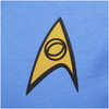 Star Trek Men's Science Uniform T-Shirt - Blue: Image 3