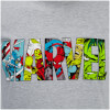 Marvel Men's Comic Strip Logo T-Shirt - Sports Grey: Image 5