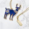 Folklore 'Oh Deer' Enamel Necklace: Image 1
