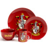Harry Potter Gryffindor 4 Piece Ceramic Dinner Set: Image 1