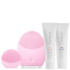 FOREO Holiday T-Sonic Skincare Collection - (LUNA 2 Normal Skin, LUNA play) Pearl Pink (Worth $284): Image 1