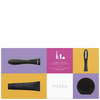 FOREO HOLIDAY COMPLETE MALE GROOMING COLLECTION - (ISSA, HYBRID BRUSH HEAD, LUNA PLAY) MIDNIGHT: Image 2