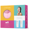 FOREO Holiday Cleansing Collection - (LUNA Mini) Petal Pink (Worth £123): Image 3