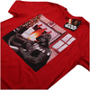 Star Wars Men's Vader Piano T-Shirt - Red: Image 3