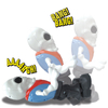Skeleton Blast Action Figure: Image 3