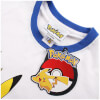 Pokemon Men's Pikachu Ringer T-Shirt - White/Royal: Image 3