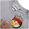 Pokemon Men's Starters T-Shirt - Sport Grey: Image 3