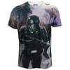 Star Wars Rogue One Men's Death Trooper Battle T-Shirt - White: Image 1