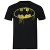 DC Comics Boys' Batman Dripping Logo T-Shirt - Black: Image 1