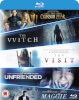 Blu-ray Starter Pack Includes The Witch/Crimson Peak/Maggie/The Visit/Unfriended: Image 1