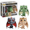 Funko Drogon, Rhaegal And Viserion 3 Pack (Hbo Exclusive) Pop! Vinyl: Image 1