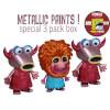 Funko Metallic Mahna Mahna & Snowths Pop! Vinyl: Image 1