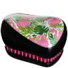 Tangle Teezer Compact Styler Skinny Dip Hair Brush - Palm Print: Image 1