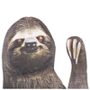 Ride With Car Stickers - Sloth: Image 2