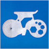 Bicycle Shaped Multi Tool - Silver: Image 1
