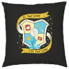 Blue Guild Cushion: Image 1