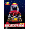Beast Kingdom Disney Toy Story Egg Attack Alien's Floating Rocket Model with Light up Function 18cm: Image 2