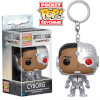 Justice League Cyborg Pop! Keychain: Image 1