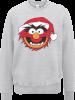 Disney The Muppets Animal Grey Christmas Sweatshirt: Image 1