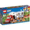 LEGO City Great Vehicles: Pickup and Caravan (60182): Image 1