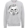Marvel The Punisher Skull Badge Logo Grey Men's Sweatshirt: Image 1