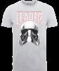 Star Wars The Last Jedi Captain Phasma Men's Grey T-Shirt: Image 1
