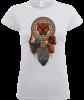 Black Panther Totem Women's T-Shirt - Grey: Image 1
