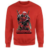Marvel Deadpool Ready For Action Sweatshirt - Red: Image 1