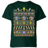 Nintendo The Legend Of Zelda It's Dangerous To Go Alone Kids' T-Shirt - Forest Green: Image 1