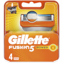 Fusion5 Power Razor Blades for Men - 4 Count
