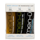 men-ü Matt Refresh and Moisturise Set - 15ml (3 Products)