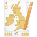 Scratch Map - UK Edition