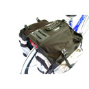 M Wave 600 Denier 62L Bicycle Triple Panniers