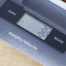 Morphy Richards 46180 Electronic Kitchen Scales - Black
