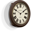 Newgate The Kings Cross Station Wall Clock - Brown