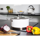 Morphy Richards 79007 Accents Casserole Dish - White - 24cm