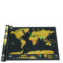 Weltkarte Zum Frei Rubbeln - Scratch Map Gold Edition