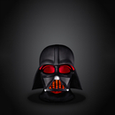 Star Wars Darth Vader Adult Small Mood Light - Black
