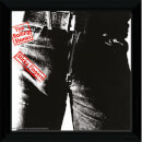 "The Rolling Stones Sticky Fingers - 12"""" x 12"""" Framed Album Prints"