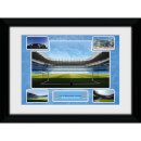 "Manchester City City of Manchester Stadium - 16"""" x 12"""" Framed Photographic"