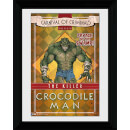 Batman Circus Crocodile Man - 30 x 40cm Collector Prints