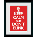 Doctor Who Keep Calm Don't Blink - 30 x 40cm Collector Prints