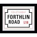 "Forthlin Road - 8"""" x 6"""" Framed Photographic"