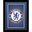 "Chelsea Club Crest - 8"""" x 6"""" Framed Photographic"