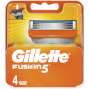 Fusion5 Razor Blades for Men - 4 Count