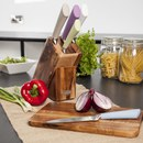 Natural Life NL84002 5 Piece Knife Set in Wooden Block