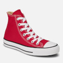 Converse All Star Canvas Hi-Top Trainers - Red