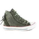 Converse Women S Chuck Taylor All Star Canvas Tri Zip Hi